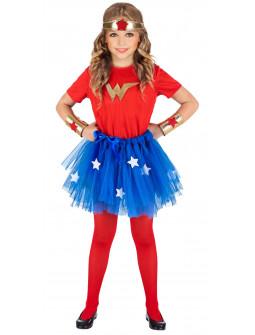 Disfraz de Wonder Lady Infantil
