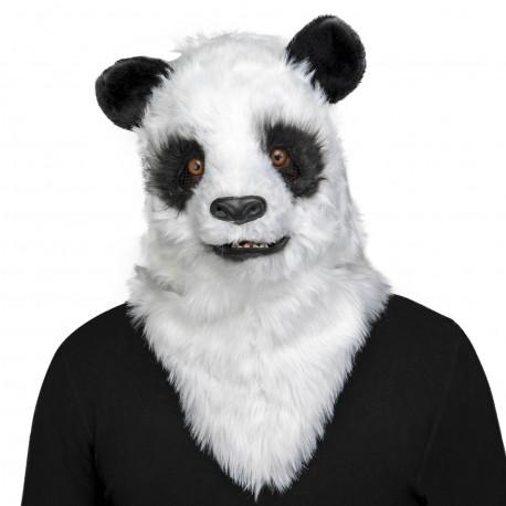 Máscara de Oso Panda con Mandíbula Móvil