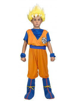 Disfraz de Goku Super Saiyan Dragon Ball Infantil