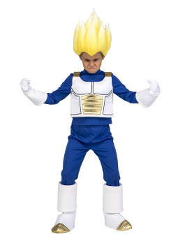 Disfraz de Vegeta Super Saiyan Dragon Ball Infantil