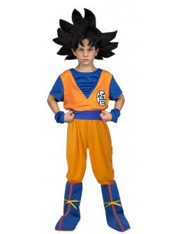 Disfraz de Goku Dragon Ball Infantil