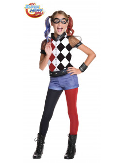 Disfraz de Harley Quinn Super Hero Girls Infantil