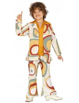 Disfraz de Chico Disco Años 70 para Niño