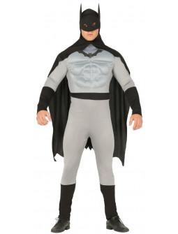 Disfraz de Hombre Murciélago Musculoso para Adulto