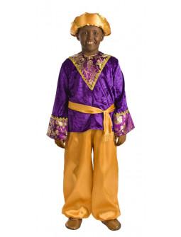 Disfraz de Paje del Rey Baltasar para Niño