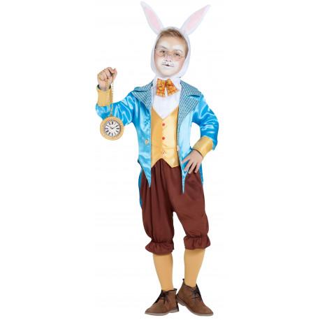 Disfraz de Conejo de Alicia con Chaqueta para Niño