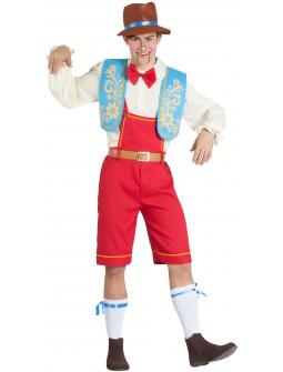 Disfraz de Pinocho Divertido para Hombre