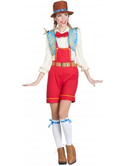 Disfraz de Pinocho Divertido para Mujer