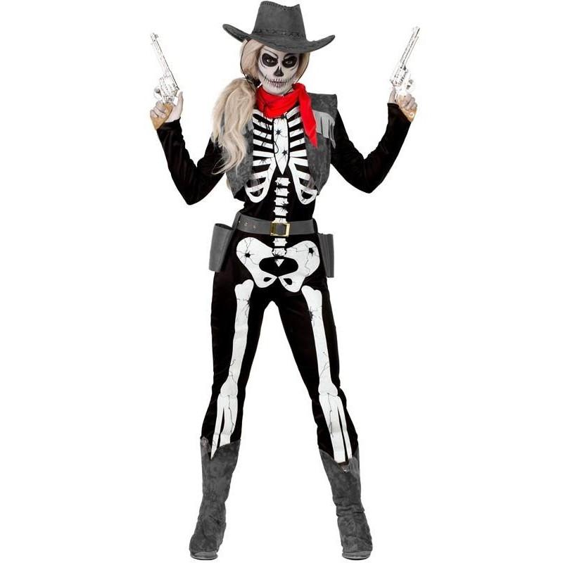 Esqueleto Para Disfraz Vaquera De Mujer 354jRLAq