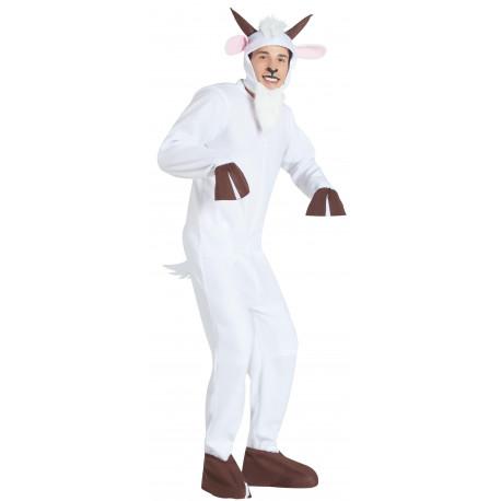 Disfraz de Cabra Blanca para Adulto