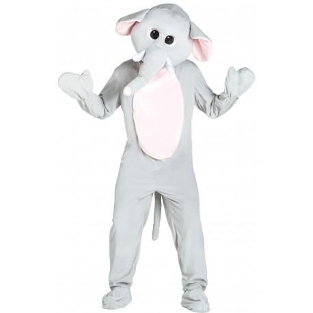 Disfraz de Elefante Cabeza Gigante para Adulto