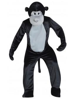 Disfraz de Mono Cabeza Gigante para Adulto
