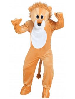 Disfraz de León Cabeza Gigante para Adulto