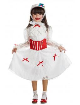 Disfraz de Mary Poppins con Sombrero para Niña