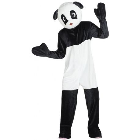Disfraz de Oso Panda Cabeza Gigante para Adulto