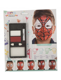 Kit de Maquillaje de Hombre Araña Infantil