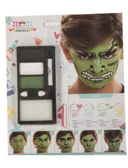 Kit de Maquillaje de Hulk Infantil