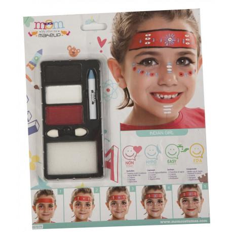 Kit de Maquillaje de India Infantil
