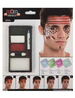 Kit de Maquillaje de Indio para Hombre