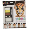 Kit de Maquillaje de Tigre para Adulto