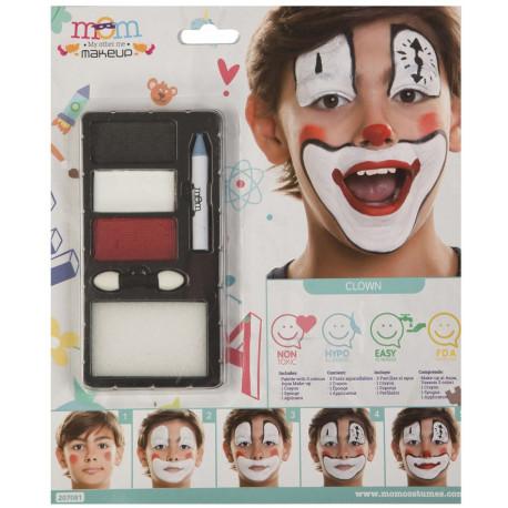 Kit de Maquillaje de Payaso Infantil