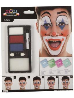 Kit de Maquillaje de Payaso para Adulto