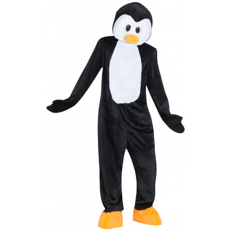 Disfraz de Pingüino Cabeza Gigante para Adulto