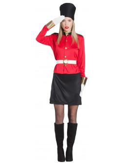 Disfraz de Guardia Inglesa Cachonda para Mujer