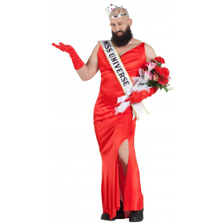 Disfraz de Miss Universo para Hombre
