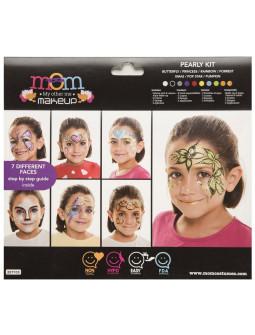 Kit de Maquillaje al Agua Perlado Infantil
