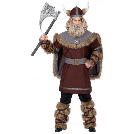 Disfraz de Guerrero Vikingo Premium para Hombre