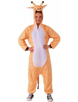 Disfraz de Jirafa Pijama para Adulto