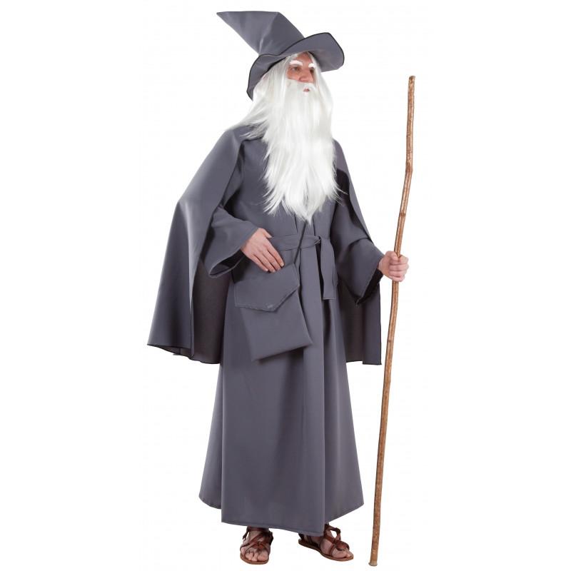Disfraz de Mago Gandalf el Gris para Hombre  9529badb4c9