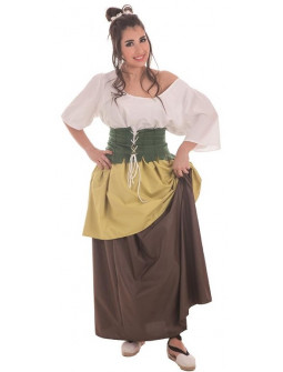 Disfraz de Campesina Medieval para Adulto