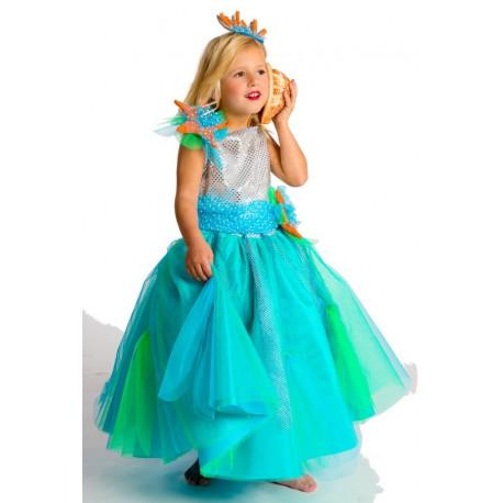Disfraz de Princesa del Mar para Niña