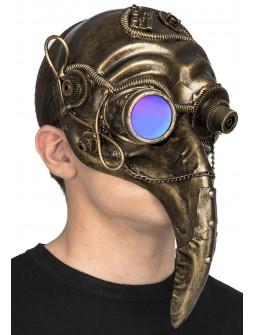 Máscara Veneciana Steampunk Dorada