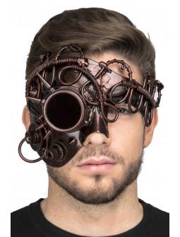 Máscara Steampunk Color Cobre