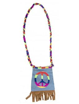 Bolso Hippie con el Símbolo de la Paz