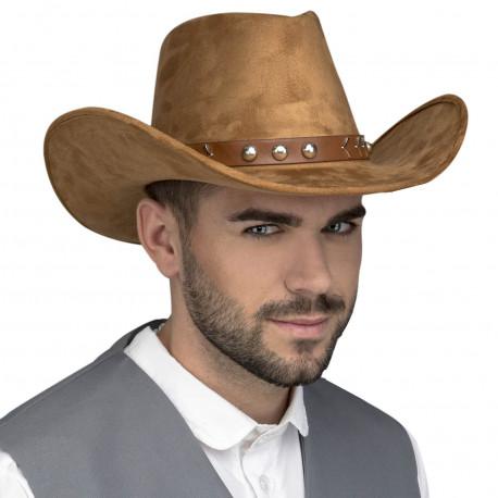 Sombrero Vaquero Marrón Premium