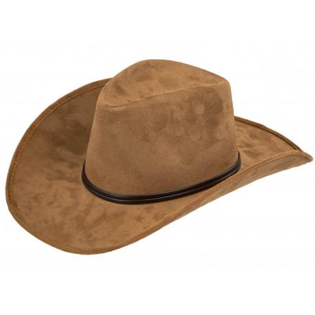 Sombrero de Cowboy Marrón Claro Premium