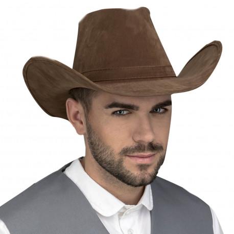 Sombrero de Vaquero Flocado Premium