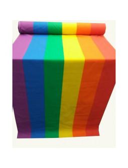 Tela de Bandera del Orgullo Gay por Metros