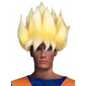 Peluca de Goku Saiyan Dragon Ball para Adulto