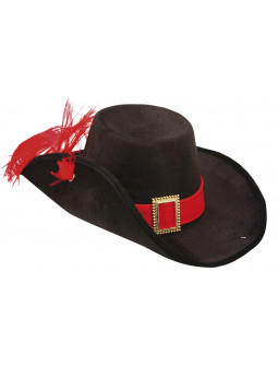 Sombrero de Mosquero Negro para Adulto ... 21947a63def