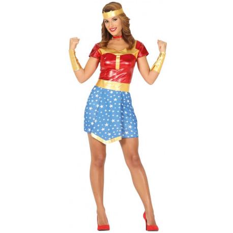 Disfraz de Wonder Lady para Mujer
