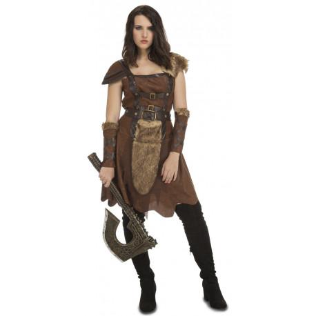 Disfraz de Guerrera Vikinga Norteña para Mujer