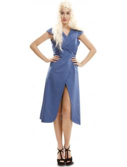 Disfraz de Khaleesi Azul para Mujer