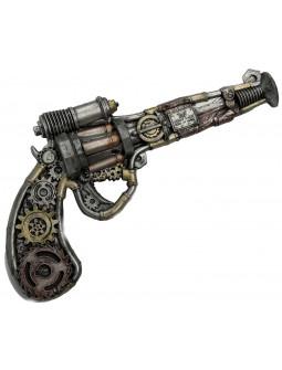 Pistola Steampunk con Engranajes