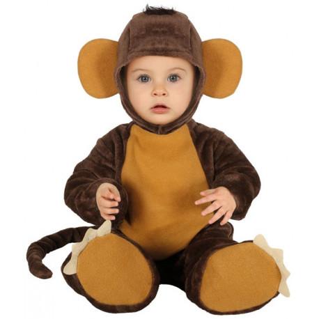 Disfraz de Mono de Peluche para Bebé