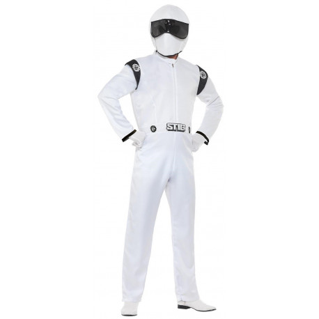 Disfraz de Piloto The Stig Top Gear para Adulto